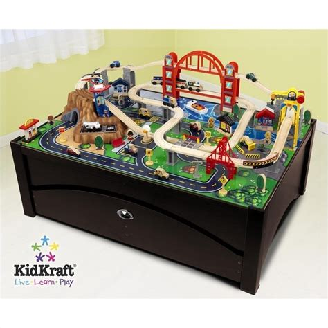 kid craft table kidkraft metropolis table and set 17935