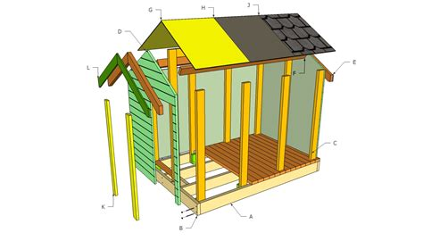 make building plans free plans to build a simple playhouse furnitureplans