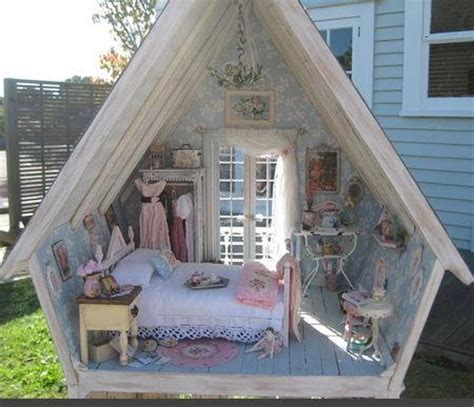 real life doll house real dolls house outside pinterest