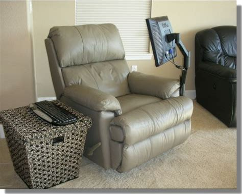 recliner gaming setup cool computer room design 1 home design ideas