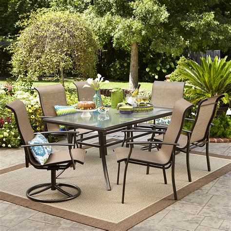 garden oasis harrison  piece dining set shop