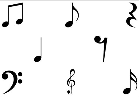 music note head silhouette musical notes png clipart panda free clipart images