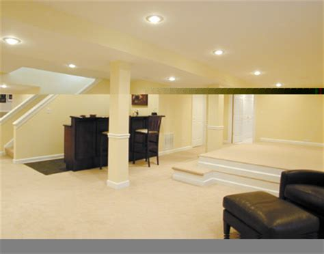 effective interior lighting for any basement interior