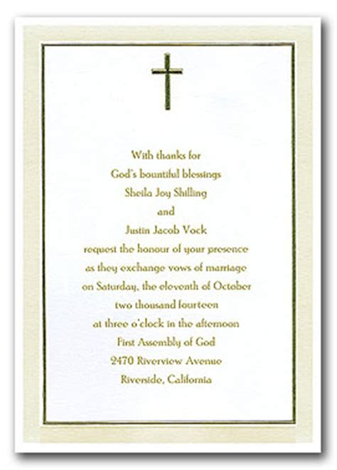religious invitation templates religious wedding invitations template best template