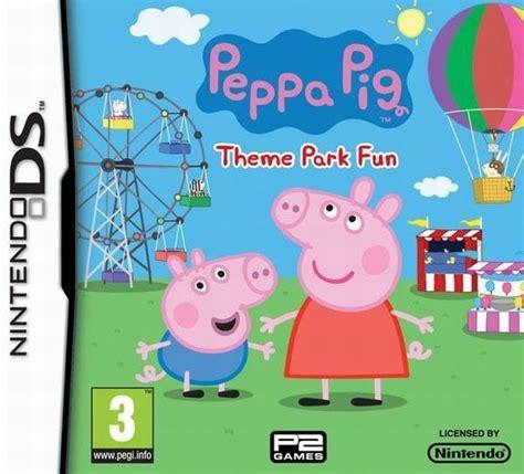 theme park peppa pig compare p2 games peppa pig theme park fun nintendo ds game
