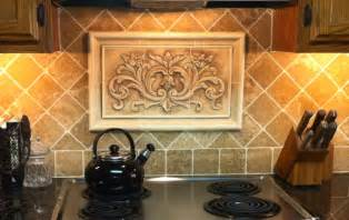 decorative backsplashes kitchens kitchen ceramic tile mural backsplash studio design