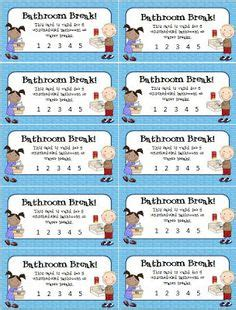 going to the bathroom too much 1000 ideas about behavior punch cards on pinterest
