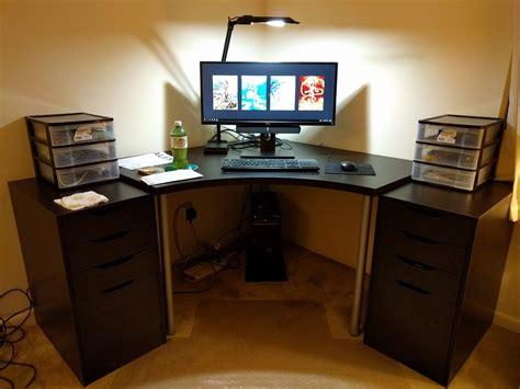 ikea linnmon corner desk ikea desk gallery page 92 h ard forum