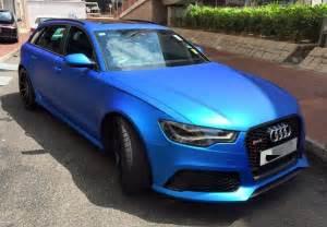 Matte Blue Audi Matte Blue Audi Rs6 Is Serious Eye
