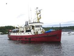liveaboard boats for sale ontario russel brothers ex ccg research boat liveaboard yacht 1960