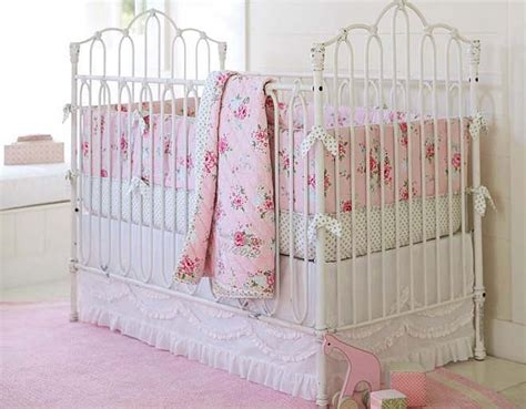 pottery barn baby bedding id to this crib for my youngest i the pottery barn pink on