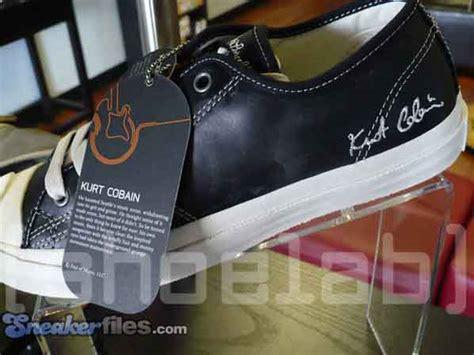 Kurt Cobains Converse Shoe Line by Converse Kurt Cobain Signature Pack Sneakerfiles