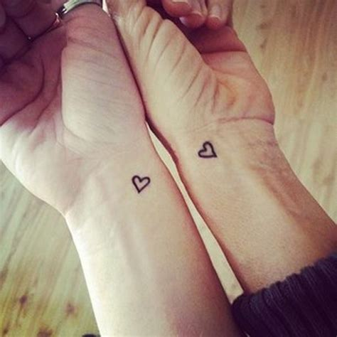 cute heart tattoo designs 21 friendship tattoos