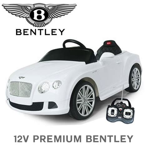 official 12v premium bentley continental ride on car