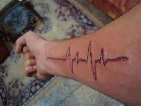dj tattoo heartbeat by dj niks picture at