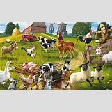 Cartoon Farm Scene | 1173 x 705 jpeg 229kB