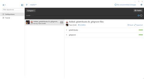 github gitignore tutorial using git for beginners github for desktop wp smith