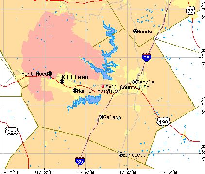 map of bell county bell county detailed profile houses real estate