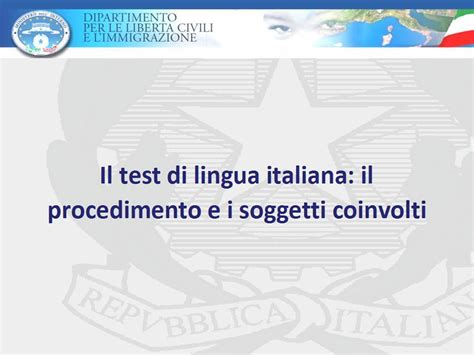 ministero dell interno test di italiano valigie di cartone http testitaliano interno it