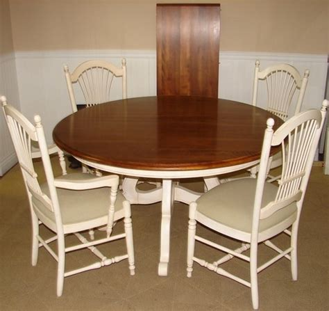 Ethan Allen Dining Room Table And Chairs by Ethan Allen Country White Dining Room Table And