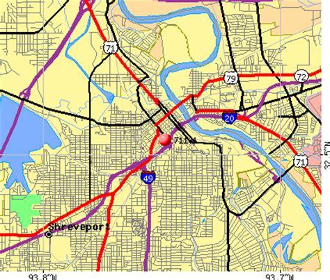 zip code for city la shreveport zip code map laminatoff