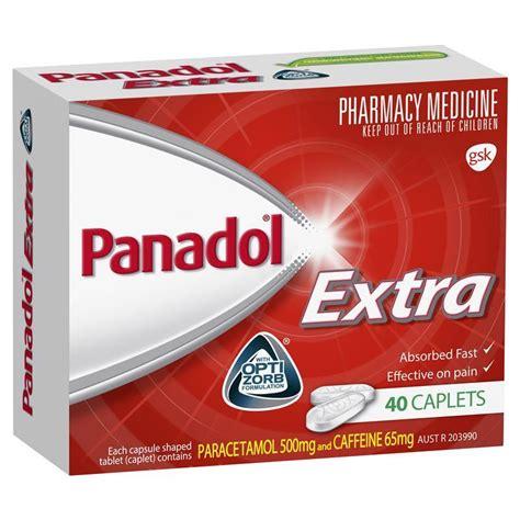 Buy Panadol Extra Optizorb 40 Caplets Online at Chemist