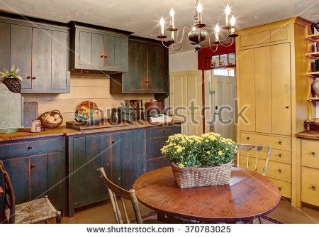 quot modern quot country kitchen quot primitive colonial quot stock photos royalty free images