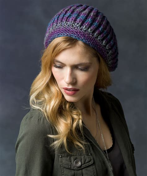 knitted beret knit beret hat pattern a knitting