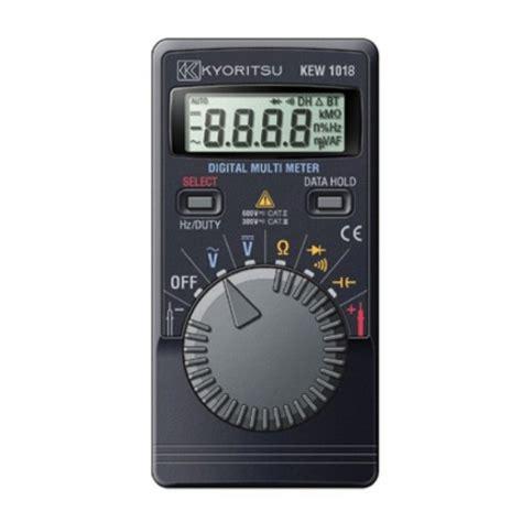 Multimeter Multi Tester Digital Pocket Kyoritsu 1018 kyoritsu 1018h pocket multimeter with