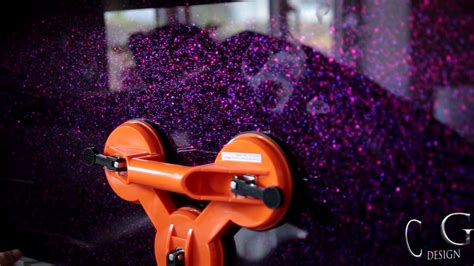 Bathroom Mirror Design Ideas quot purple haze quot luxury kitchen splashback creoglass youtube