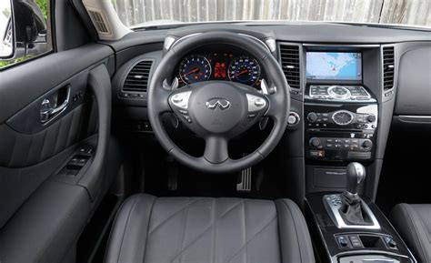 2012 infiniti fx35 interior car and driver