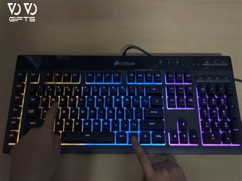 Corsair K55 Rgb By Chemicy Gaming corsair k55 r g b gaming key board vovo gifts