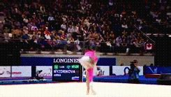 triple layout gymnastics wogymnastika the tumbling pass that made her known gif