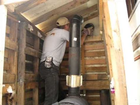 installing a wood burning stove in an existing fireplace installing the barrel stove pipes