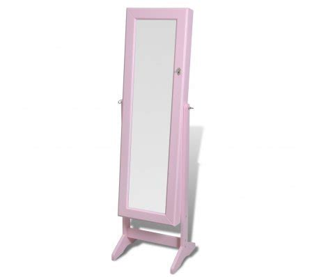 armoire 192 bijoux rangement miroir meuble chambre