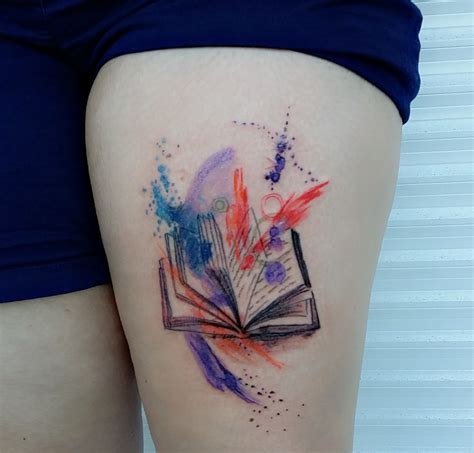 open book tattoo littlemissjesstattooslittlemissjesstattoos
