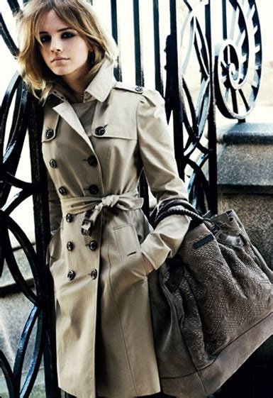 emma watson jacket emma watson burberry trench coat cable car couture
