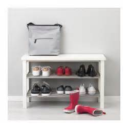 tjusig bench with shoe storage white 81x50 cm ikea