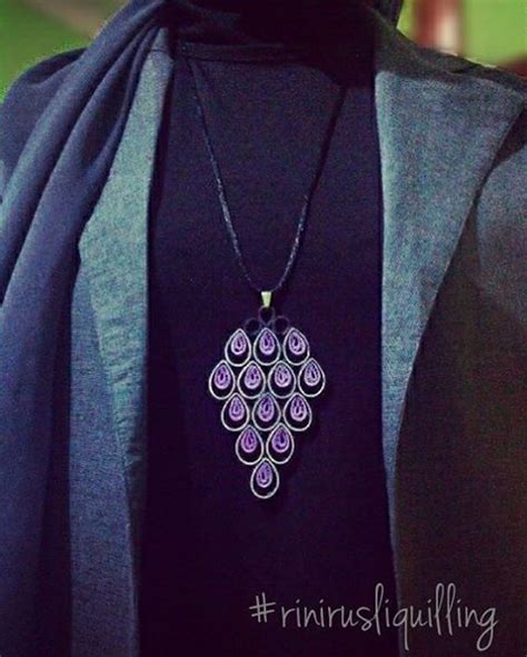 Kalung Handmade Black Blueverstone 884 best jewelry quilled images on