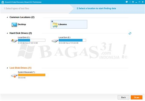 easeus data recovery full version bagas31 easeus data recovery wizard 9 0 technician full patch