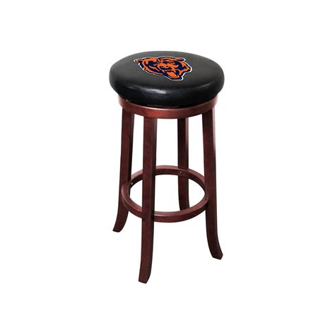 Lionel Bar Stools by Chicago Bears Wood Bar Stool Chicago Bears Teams Nfl