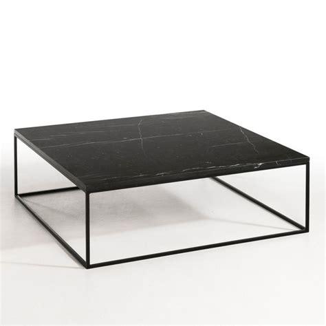 Table Basse Mã Tal Noir Table Basse M 233 Tal Noir Et Marbre Mahaut Am Pm La Redoute