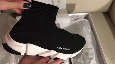 Sepatu Balenciaga Speed Trainer balenciaga speed trainers unboxing