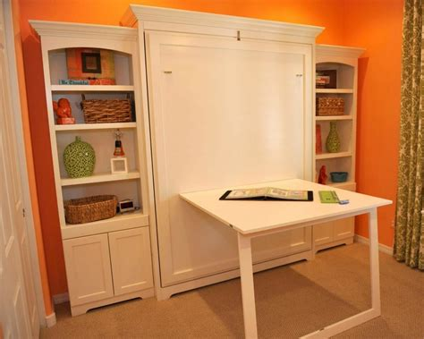 murphy bed with table awesome murphy bed desk decorating ideas