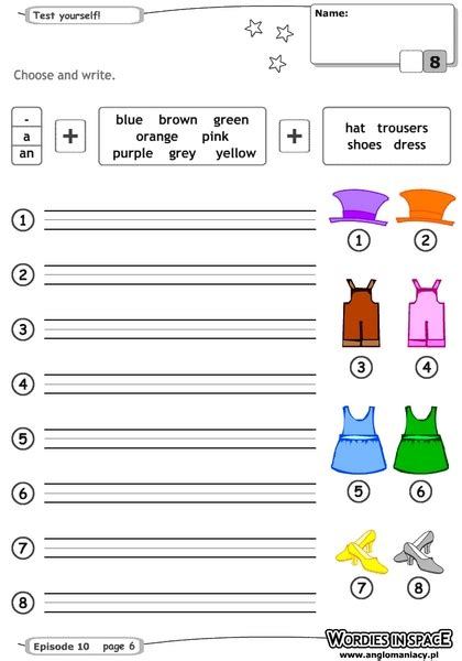 are colors adjectives worksheets on color adjectives homeshealth info