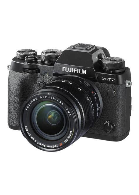 Fujifilm X T20 Mirrorless With 18 55mm Lens Black fujifilm x t2 mirrorless digital with 18 55mm lens in india