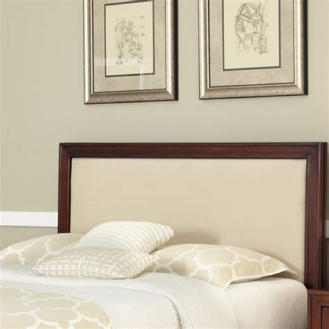 buy home styles duet upholstered home styles duet queen panel headboard with oyster