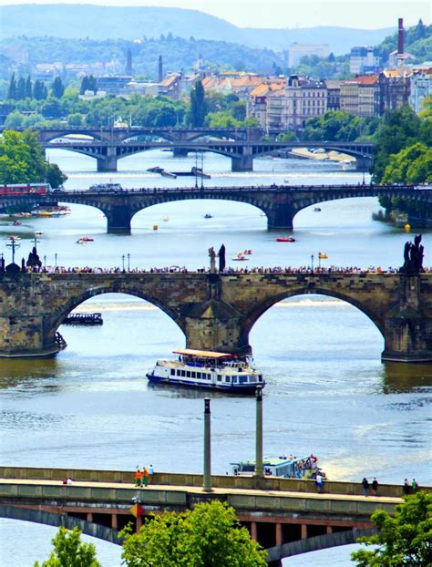Awesome View Of Vltava River, Prague   Czech Republic   Full Dose