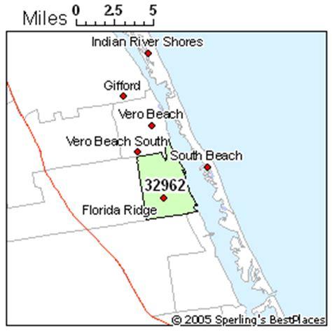 zip code map vero beach fl vero beach zip code map