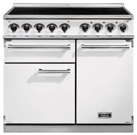 really funky modern kitchen induction hob cooker and falcon 1000 deluxe range cooker with induction hob range